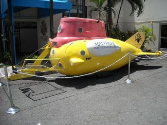Toys R Us version of a deep sea submersible.