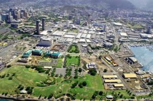 Kaka'ako - this is ground zero for urban development on the island of Oahu.