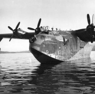 "The Kawanishi H8K was an Imperial Japanese Navy flying boat used during World War II for maritime patrol duties. The Allies called it an ""Emily""."