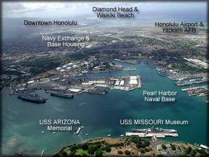 Pearl Harbor layout
