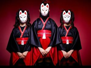 The samurai foxes of babymetal.