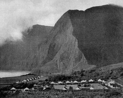 The Kalaupapa Settlement as Jack London would have seen it.