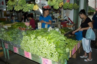 Typical produce market in Chinatown. Good prices can be made gooder if you like to haggle a bit.