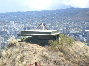 World War 2 bunker on top of Diamond Head.