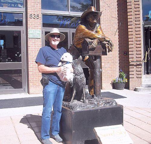 Durango Cowboy Statue