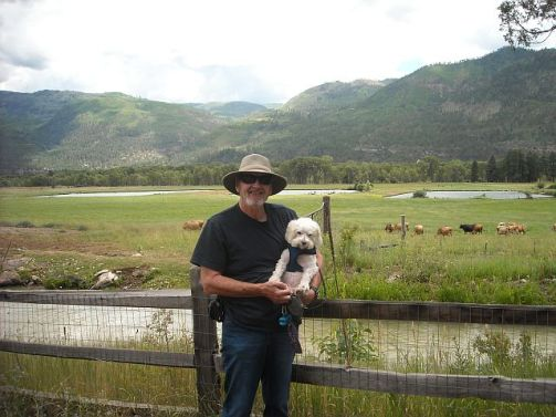 Durango TM and Max at James farm