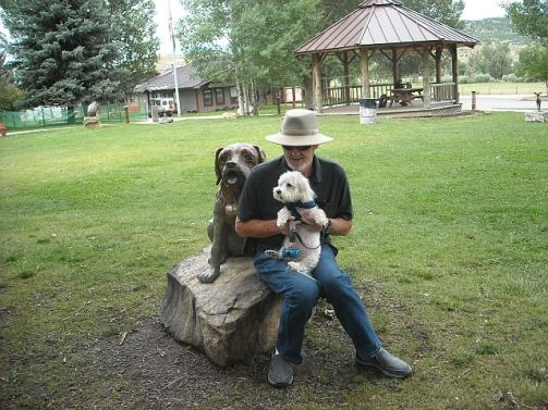 Ridgway Park with Dog