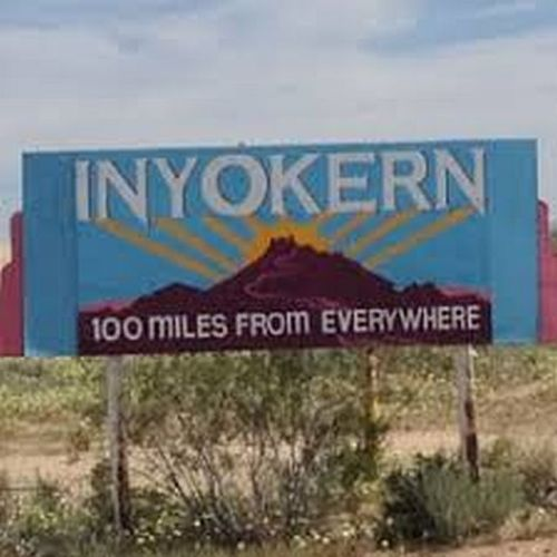 inyokern sign