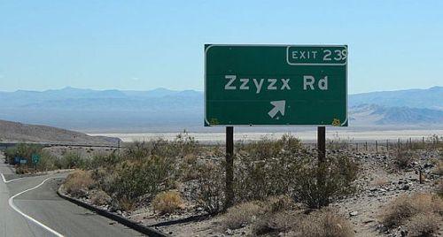 Zyzzx