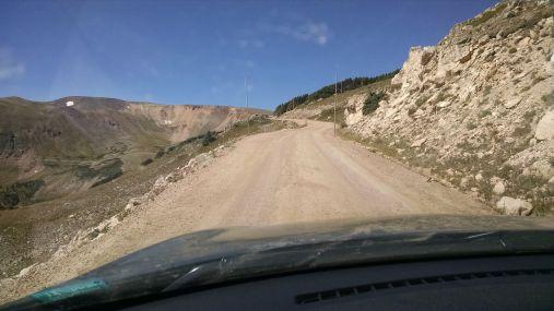 Dirt road fall river