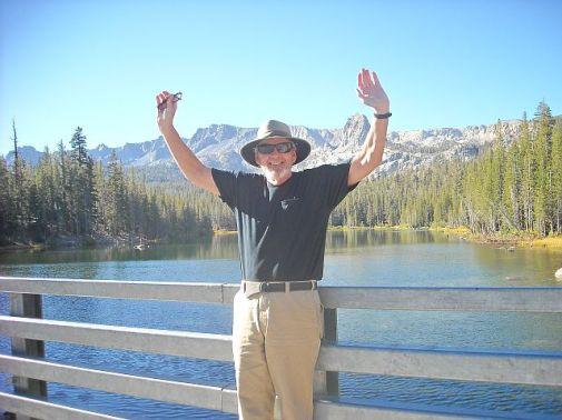 Tom at Lake Mamie